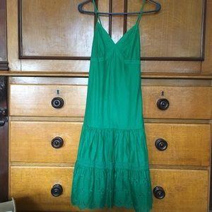 Emerald Green Gap summer dress